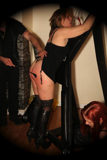 Tied to St Andrews Cross