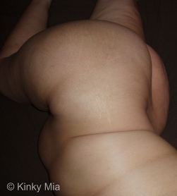Womanly curves and stretch marks