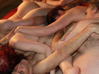 Orgy of bodies