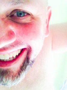 Smiling man post orgasm Eugene Noale