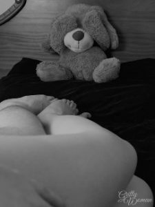 Teddy watching couple having sex