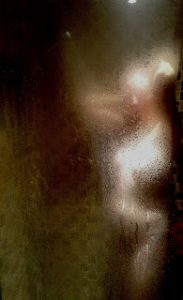 woman in shower sinful sunday