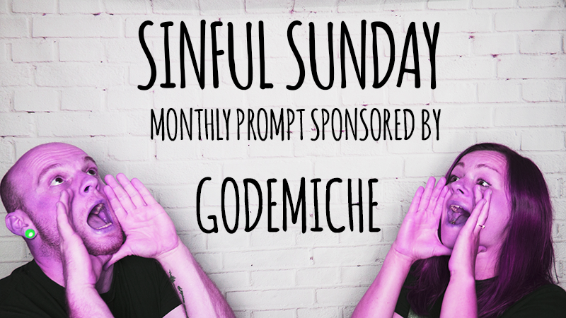 Godemiche sponsorship badge of sinful sunday